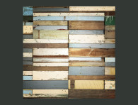 wooden backdrop for wedding photo booth