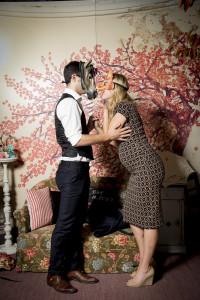 wedding photo booth at Officine del Volo-MIlano